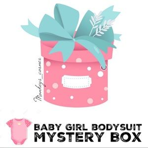 Other - MYSTERY BOX⚡️5 Pcs Baby Girl Bodysuit_0-3 months